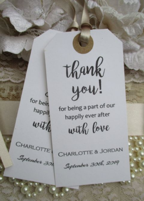 10 Happily Ever After Tags